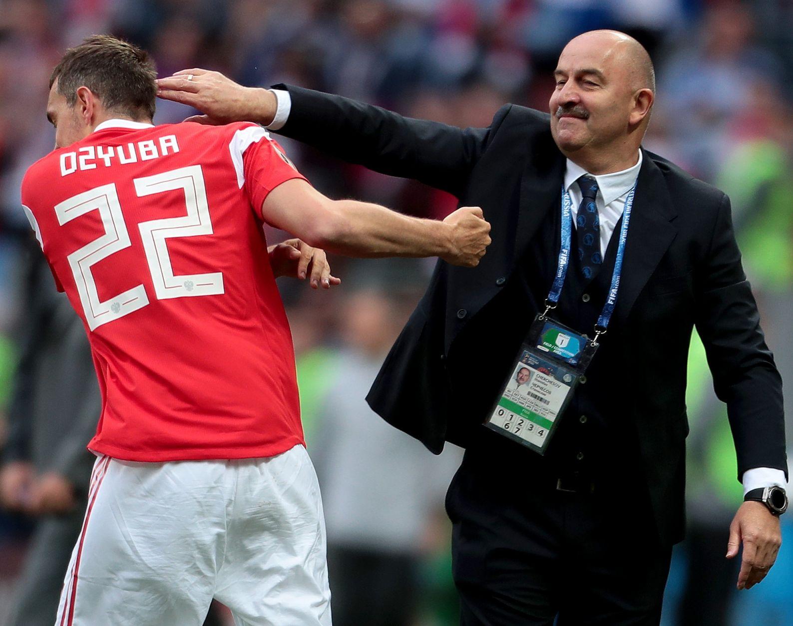 Дзюба сообщил о разговоре с Черчесовым про последние игры сборной