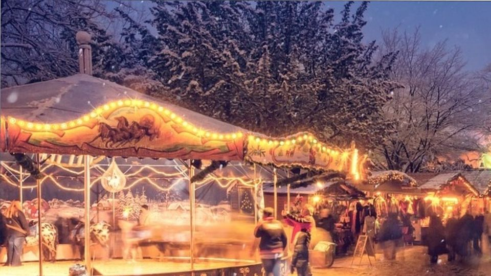 Рождественская петербургская ярмарка пройдет в этом году без каруселей и катка