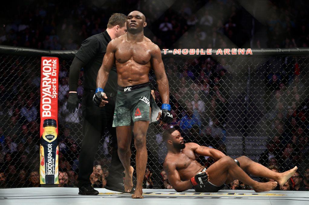 «Камару Усман просится в ACA». Чемпион UFC надел толстовку с надписью: «Ахмат – сила»