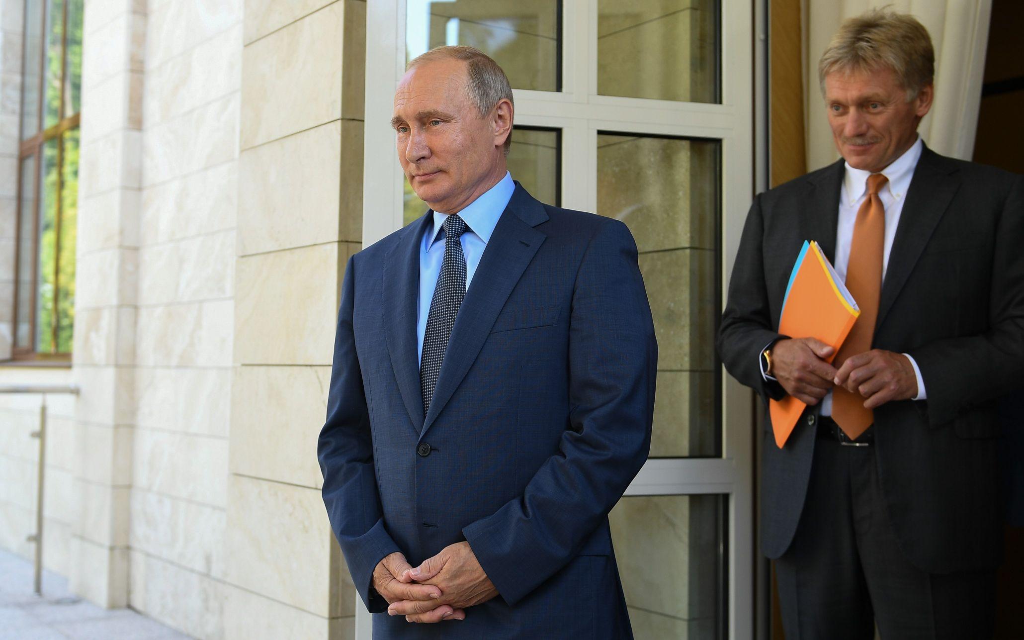 Daily Express: Кремль засекретил здоровье Владимира Путина