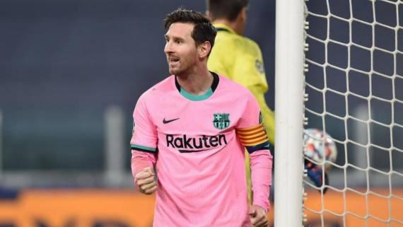 Месси стал первым в истории ЛЧ с 70 голами на групповом этапе