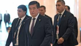 Президент Киргизии Жээнбеков ушел в отставку на фоне протестов