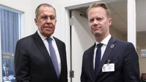 Вчера: Лавров произвел фурор ответом на заявление о санкциях главы МИД Дании