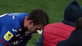 Карпов пропустит матч ЦСКА и «Динамо» в Лиге Европы