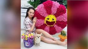 Алина Загитова получила букет роз от таинственного фаната
