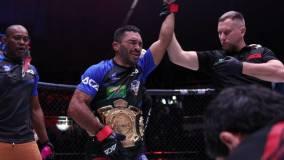 Дудаев нокаутом проиграл Альмейде в бою за титул чемпиона АСА