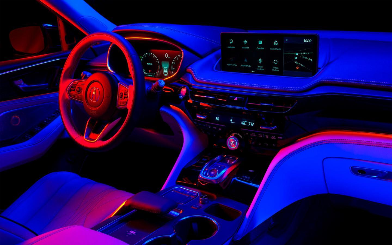 Салон Acura MDX нового поколения, kmph.ru