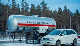 Россияне стали чаще покупать автомобили на газовом топливе