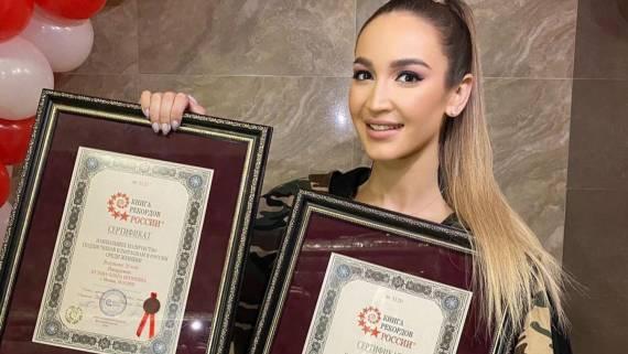 Ольга Бузова вошла в Книгу рекордов России