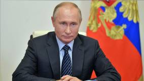 Президент Владимир Путин занял первое место в рейтинге доверия россиян