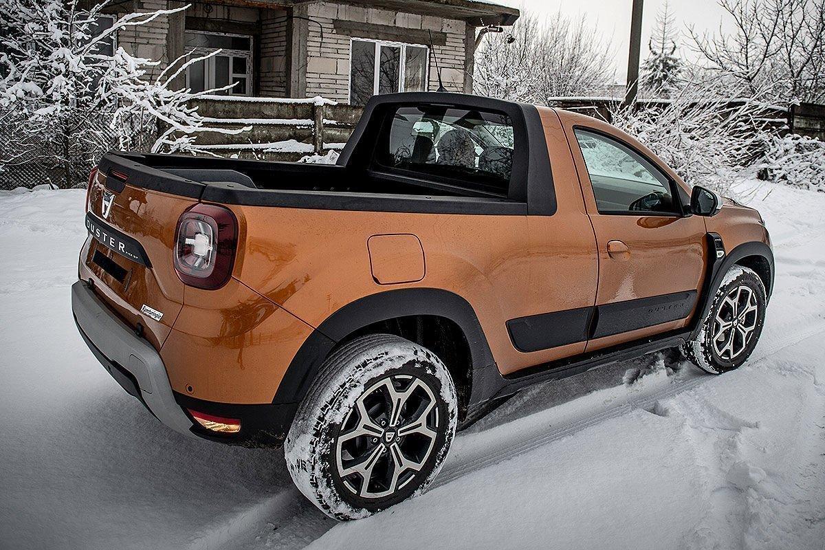 Dacia Duster пикап, autoassa.ru