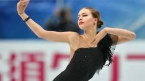22-летняя фигуристка Анна Погорилая впервые станет мамой