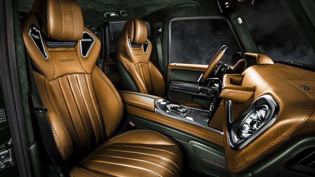 Салон Mercedes-AMG G 63 Racing Green Edition Carlex Design, Тарантас-ньюс