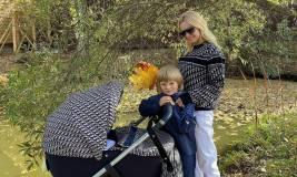 Ургант высмеял фотографию Рудковской с коляской за полмиллиона рублей