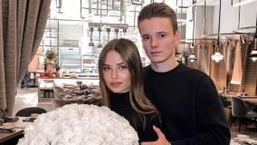Сын Валерии опубликовал снимок жены с округлившимся животом