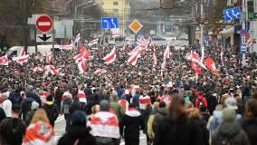 Песков заявил о недопустимости вмешательства в события в Белоруссии