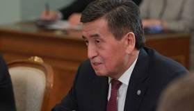 Президент Киргизии объяснил отказ от ввода режима ЧП в стране