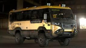 Torsus представил экстремальный школьный автобус Praetorian