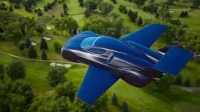 Итальянская компания Firenze представила проект летающего гиперкара Lanciare