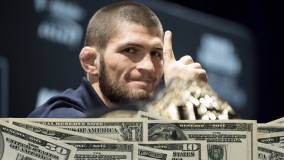 Нурмагомедов заработал более 6 миллионов долларов за бой с Гэтжи