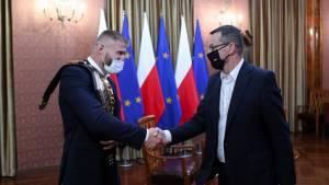 Блахович встретился с премьер-министром Польши
