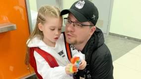 6-летняя дочь Гарика Харламова придумала пословицу про папу
