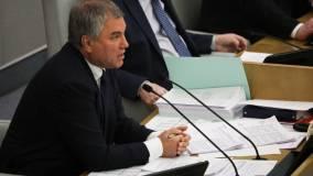 Володин рассказал Путину о десятках зараженных коронавирусом депутатов