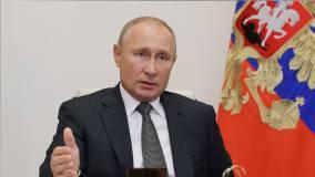 Путин пошутил о происхождении коронавируса