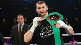 Российский боксер Махмудов нокаутировал Кэрмэна