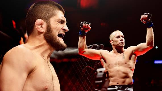 Глава UFC рассказал, что может помешать устроить бой между Нурмагомедовым и Сен-Пьером