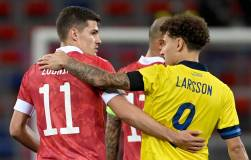 Сборная России уступила Швеции в товарищеском матче