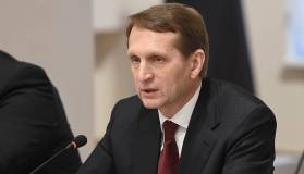 Нарышкин назвал заявления Навального тупой пропагандой