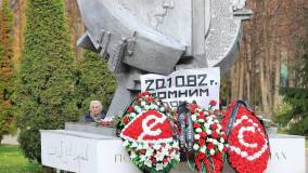 Газизов почтил память жертв давки 1982 года в «Лужниках»