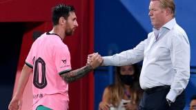 Тренер «Барселоны» признал игру Месси не лучшей