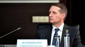 Нарышкин обвинил ФРГ в сокрытии информации по ситуации с Навальным