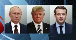 Эрдоган раскритиковал заявление Путина, Макрона и Трампа по Карабаху