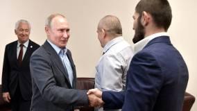 Путин пригласил Нурмагомедова на встречу в Кремль