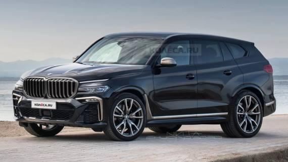 Опубликовали первые изображения нового BMW X8