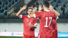 Молодёжная сборная России разгромила Латвию в отборе на Евро-2021