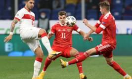 Россия сыграла вничью с Турцией в матче Лиги наций