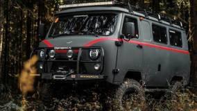 УАЗ продемонстрировал агрессивную тюнингованную «Буханку»