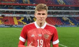Дзюба поздравил Соболева с дебютным голом за сборную России