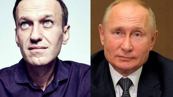 Путин заявил о своем поручении отпустить Навального в Германию