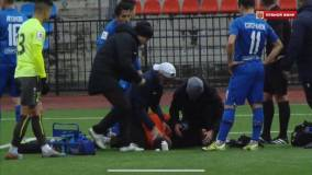 Сын Черчесова госпитализирован без сознания после удара в голову в матче ПФЛ