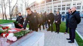 «Спартак» почтил память жертв трагедии в «Лужниках»