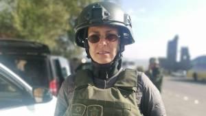 Юлия Чичерина попала под обстрел беспилотников в Нагорном Карабахе
