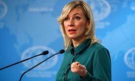 Захарова отреагировала на заявление Франции и ФРГ о санкциях против РФ