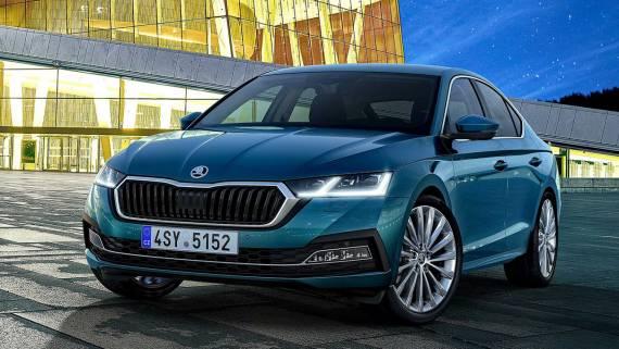 В России началось производство Skoda Octavia нового поколения