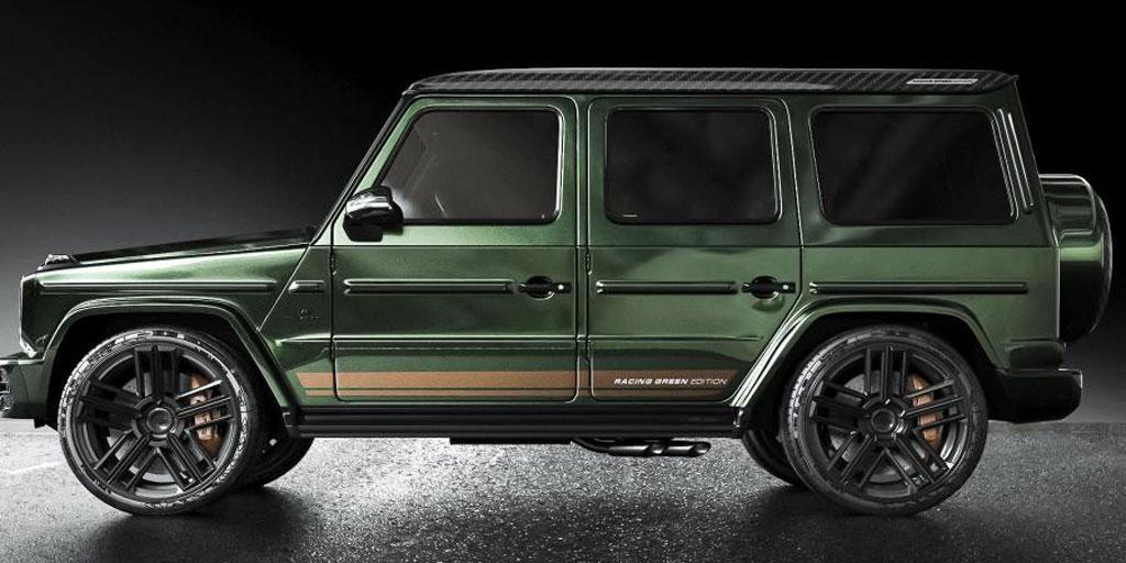 Mercedes-AMG G 63 Racing Green Edition Carlex Design, Тарантас-ньюс
