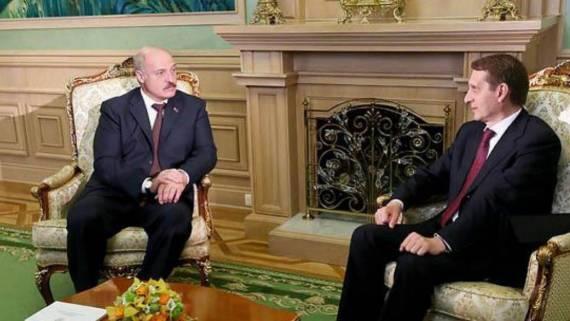Глава Службы внешней разведки прибыл в Белоруссию для встречи с Лукашенко